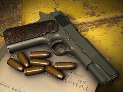 1911 with .45 ACP