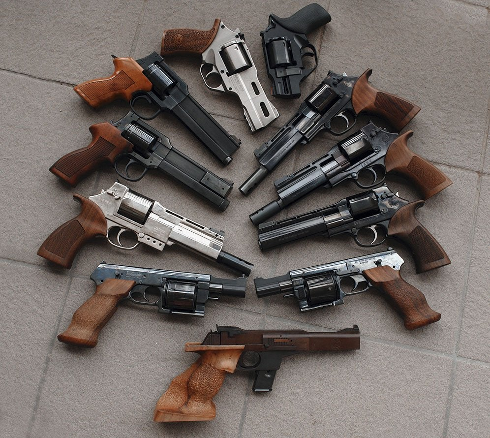 Collection of revolvers