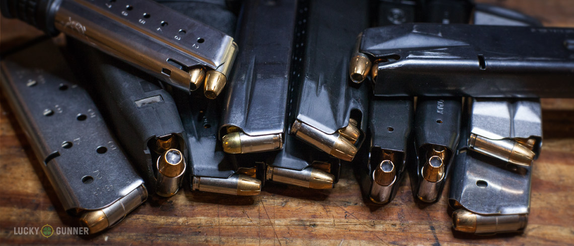 Loaded Magazines via Lucky Gunner