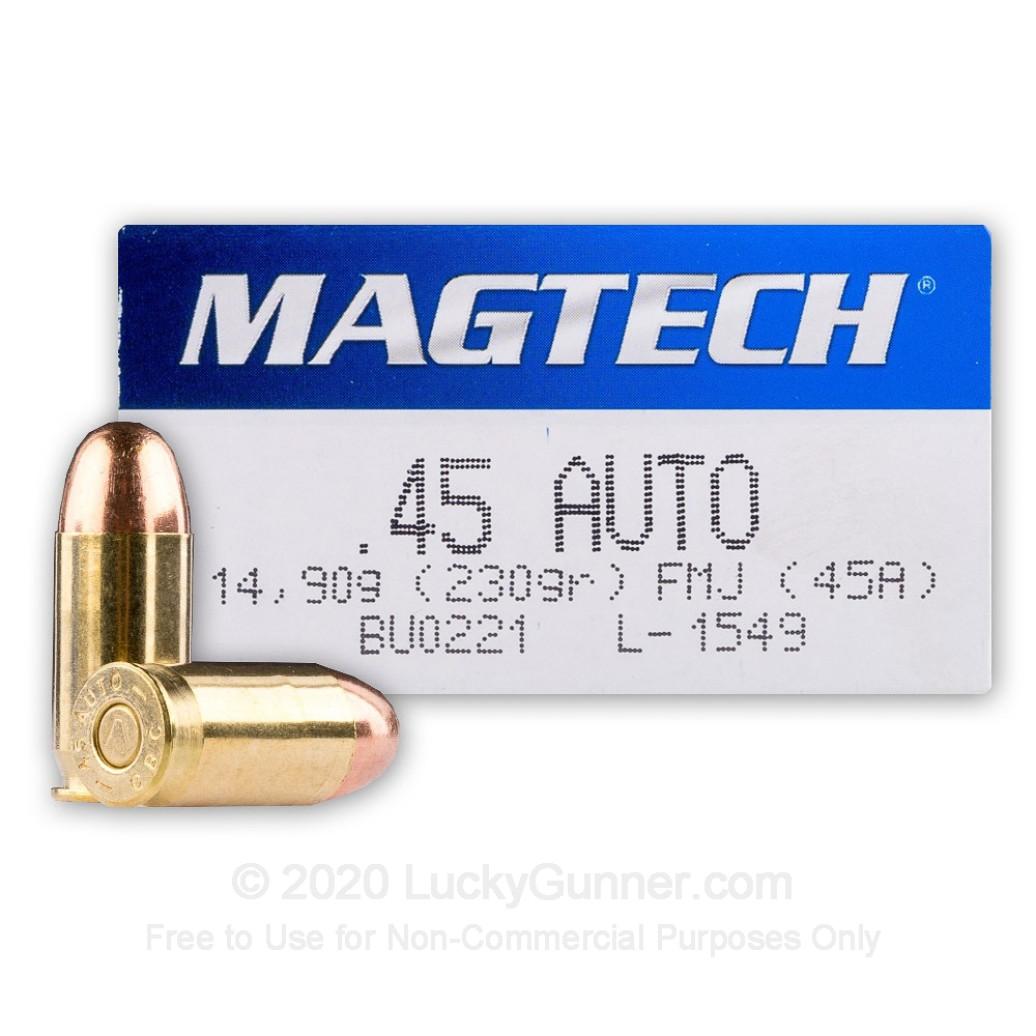 Magtech .45 ACP 230 Gr