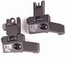 Ozark Armament 45 Degree Offset Backup Sights Flip