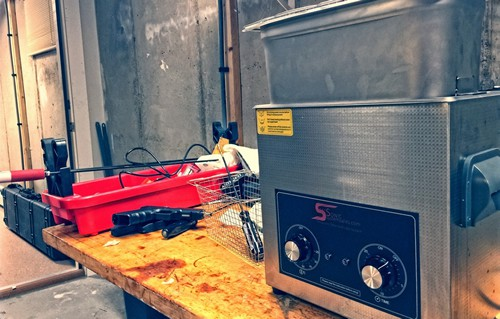 Ultrasonic Cleaning Station