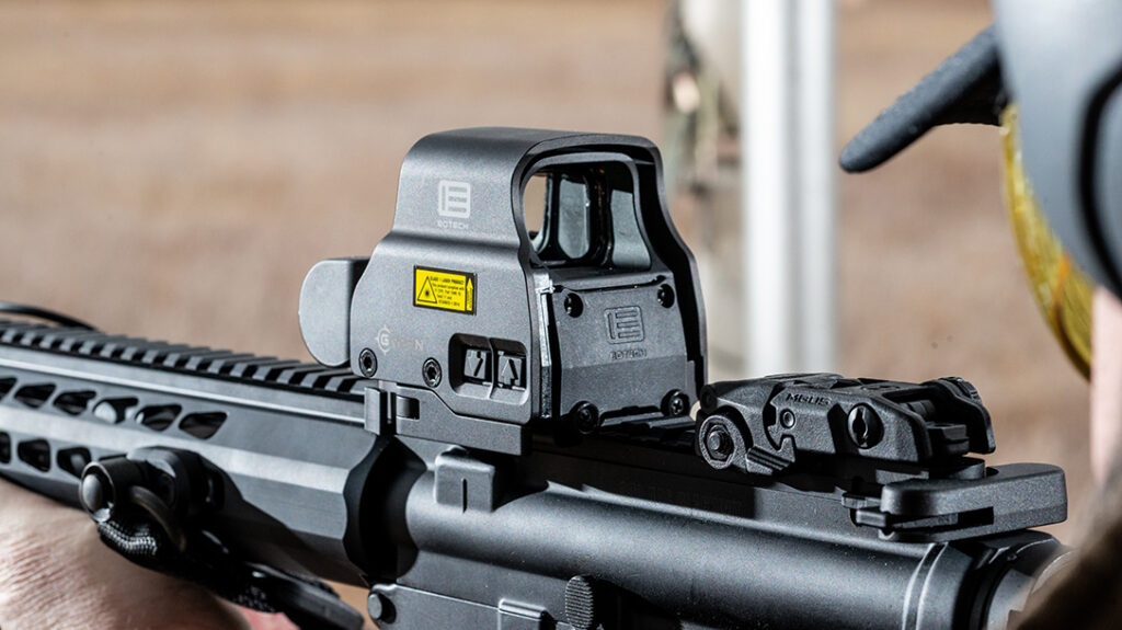 EOTech EXPS2-0 Mounted