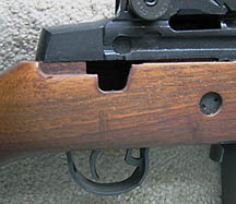 1997 M1A with a selector switch cut out