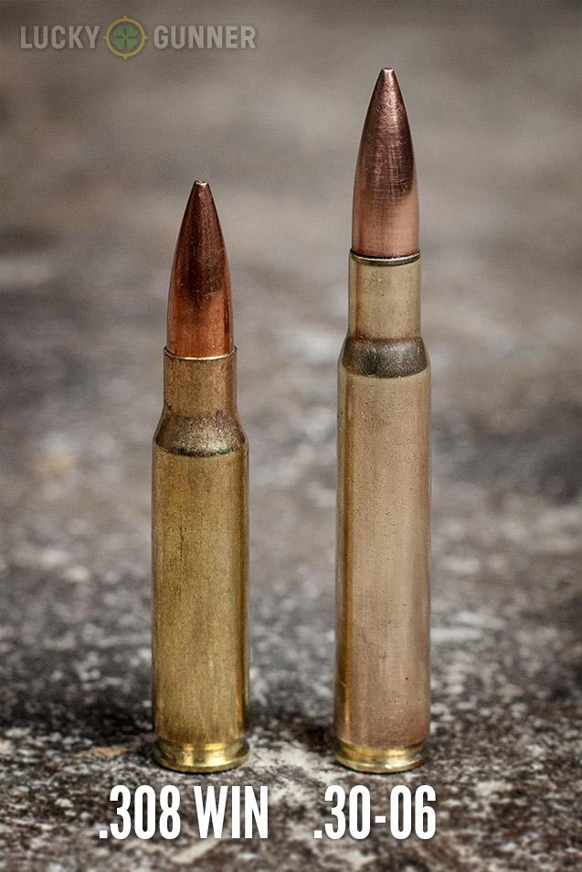 308 vs 30-06 Lucky Gunner