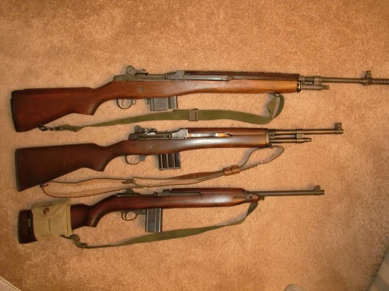 M14 Mini 14 and M1 Carbine Perfect Union