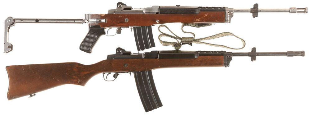 Mini-14 Ranch Rifle and Mini-14 AC-556