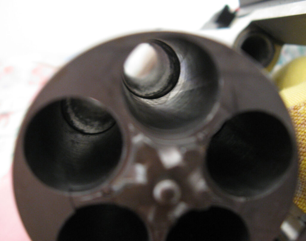 Taurus Judge cylinder closeup
