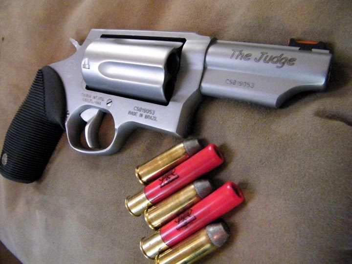 Taurus Judge with shells